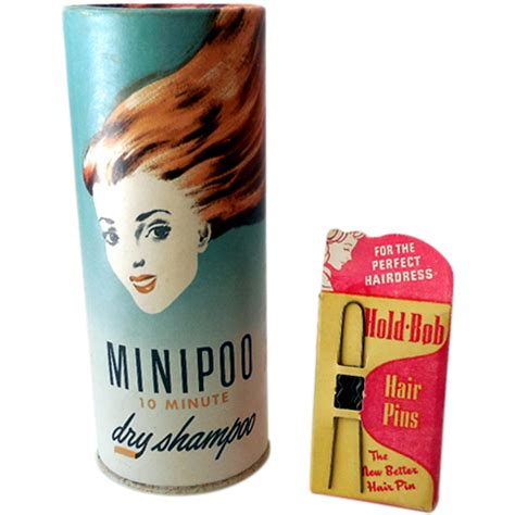 by the early 1900s several hair care changes were afoot bathing had 2 vintage hair care products from californiagirls on