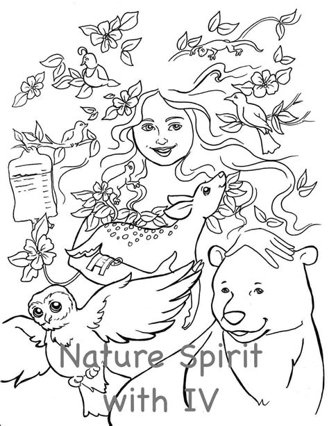 mother earth coloring page coloring pages for adults nature mother nature coloring page