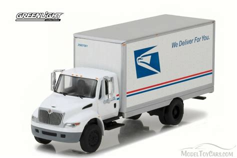 Greenlight 164 Us Army 2013 International Durastar Box 2013 usps international durastar box truck white