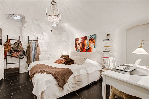 nordic style bedroom scandinavian style home with a greek twist