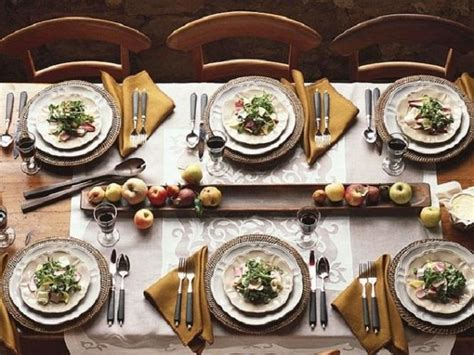dinner table setting formal fall place settings dinner table setting ideas