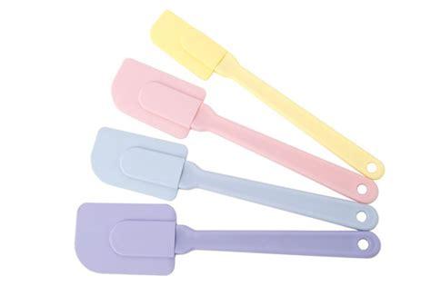 Silicone Brush Spatula Set Pink Set Spatula Pink silicone spatula set 4 cutleryandmore