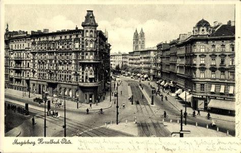 bank magdeburg ansichtskarte postkarte magdeburg in sachsen anhalt der