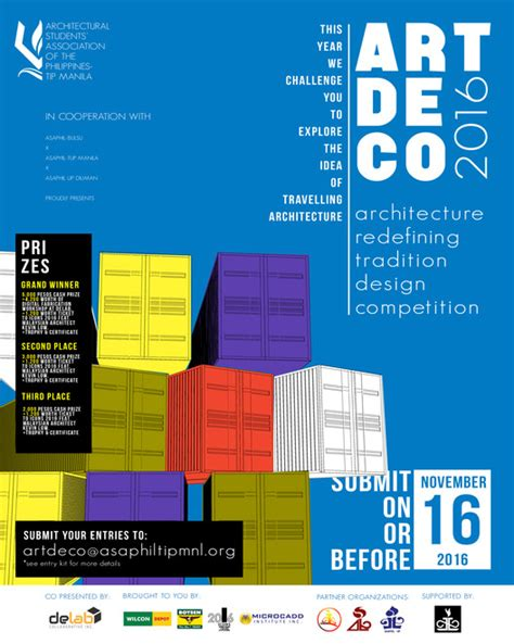 design contest philippines 2016 call for submissions art de co 2016 archdaily
