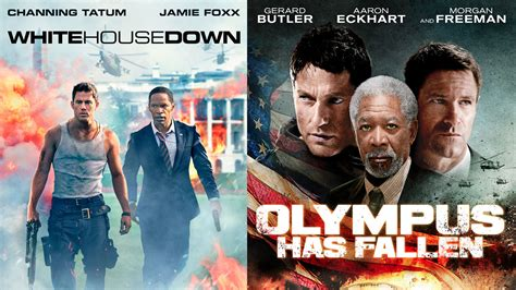white house down vs olympus has fallen abort the mission individuals vs institutions in quot white house down quot and quot olympus has