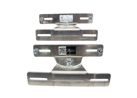 Adjustable Flat Surface Aluminum Mounting Brackets For Mounting Bracket Light Fixture