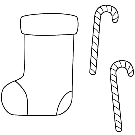 christmas coloring pages stocking blank coloring pages christmas stocking az coloring pages