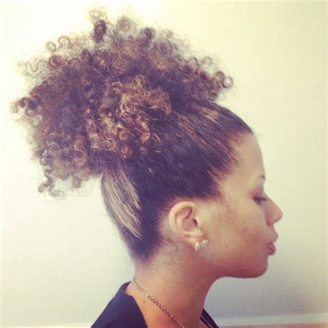 ponytail hairgrowth nathral naturalhair curly hair pinterest