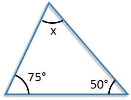 the interior angles of a triangle free mathematics