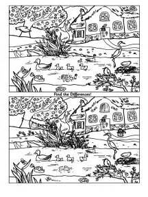 coloring pictures of spot the spot the difference coloring pages and print