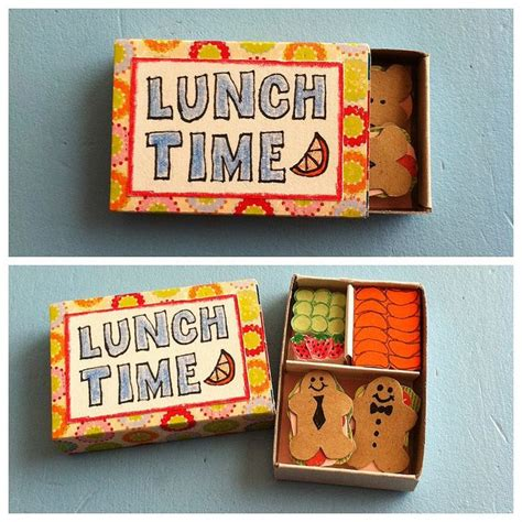 Paper Lunch Box Small Paper Box Bento Small Box Bekal 17 best images about matchbox crafts altoid cans and