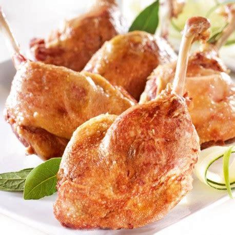 plats cuisin駸 sous vide cuisse de canard confite sachet 220 gr le gourmet de la