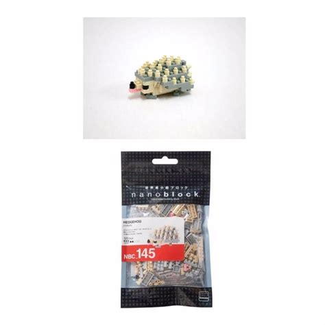 Nanoblock Kawada Hedgehog nanoblock mini critters series by kawada hedgehog nbc 145 new