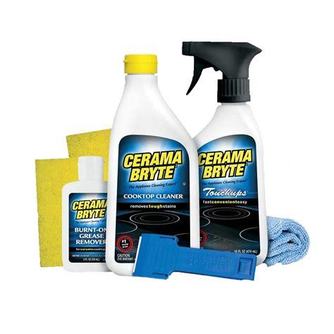 Cerama Bryte Glass Ceramic Cooktop Cleaner Cerama Bryte Complete Cooktop Cleaning Kit Wx10x10020
