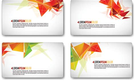free vector fashion business card templates card background vector fashion free vector 4vector