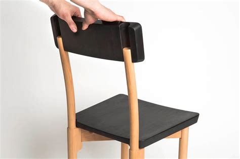 Unto This Last Flatpack Wooden Furniture by Paul Loebach S Peg Chair Can Be Constructed Without A Drop