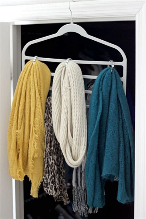 hanging curtain scarves 20 creative ways to organize and decorate with hangers