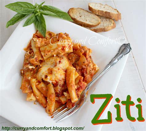kitchen simmer ziti pasta bake