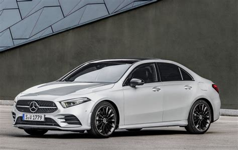 2019 Mercedes A Class Usa by 2019 Mercedes A Class Sedan Revealed For Us Slashgear
