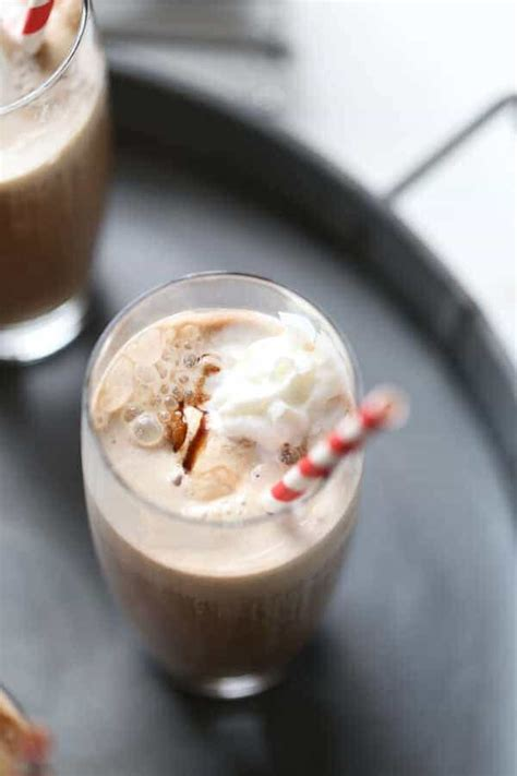 Iced Coffee Float almond iced coffee float lemonsforlulu