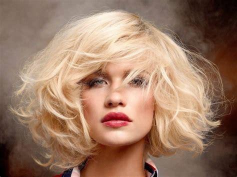 bob frisuren halblang ideen fuer mehr volumen im haar