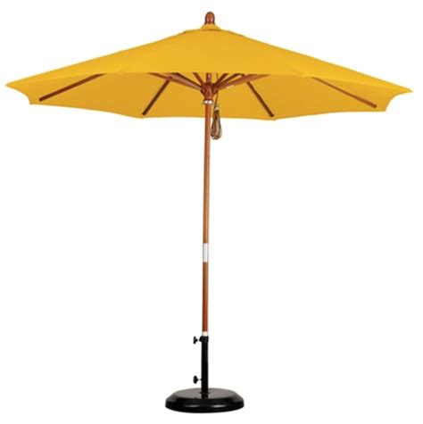 Olefin Patio Umbrella 9 Wood Olefin Patio Umbrella