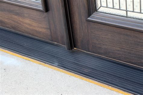 Replace Threshold Exterior Door Replace An Exterior Door Threshold All Design Doors Ideas