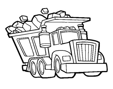 13 dump truck coloring pages for kids print color craft