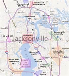 jacksonville florida maps map jacksonville florida area