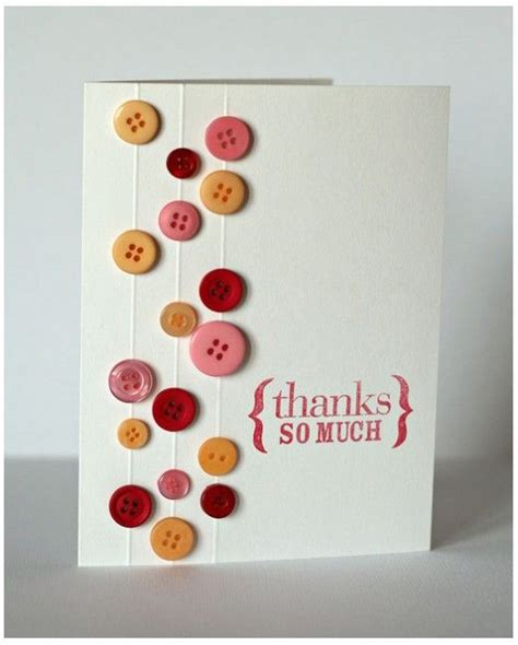 ideas to make a greeting card button greeting cards ideas for handmade card