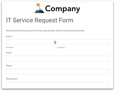 it service request form template how forms can increase productivity 183 formstack