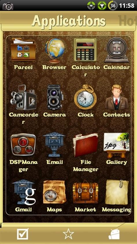 vintage themes for android vintage theme for sslauncher android apps on google play