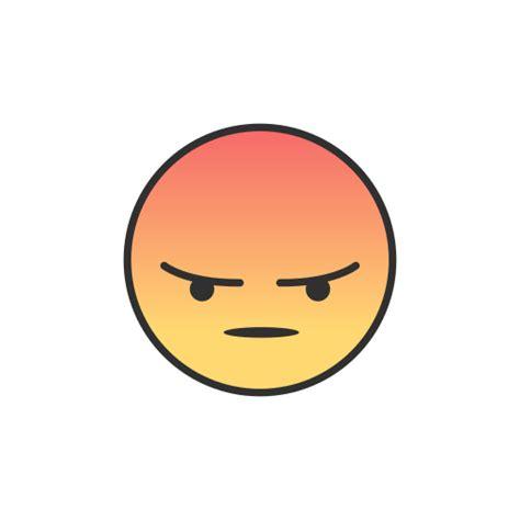 imagenes en png de emojis 237 cone emoji raiva facebook livre de facebook ui colored
