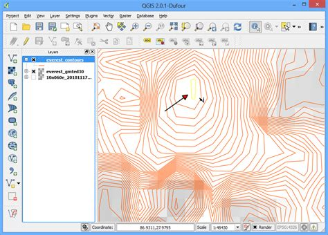 qgis hillshade tutorial working with terrain data qgis tutorials and tips