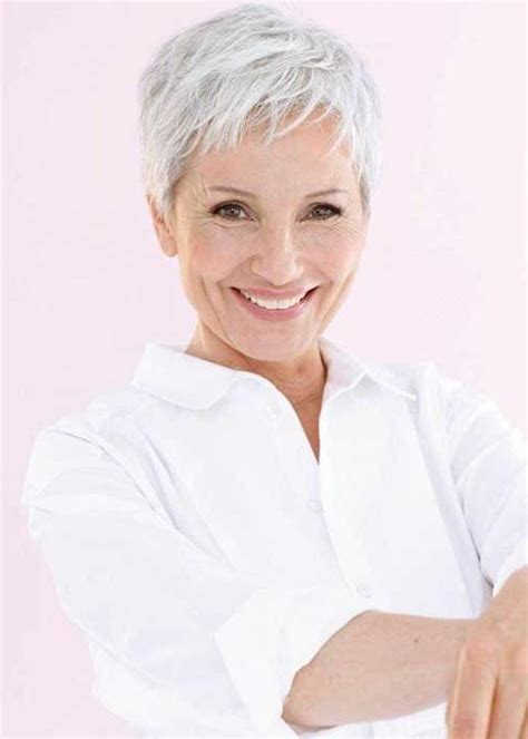 pixie hairstyles for women in their 60s 20 photo of gray hair pixie haircuts