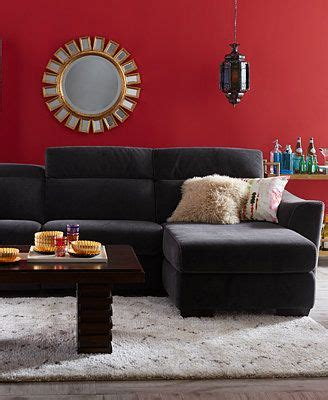 teddy fabric sectional living room from macys misc home alessandro fabric power sectional sofa living room