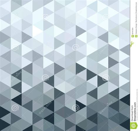 pattern low poly vector metal silver pattern low poly triangle geometry stock