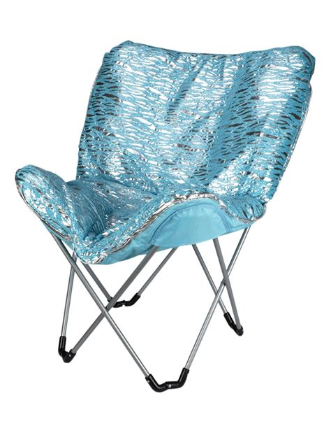 Justice Butterfly zebra foil butterfly chair room accessories room decor shop justice