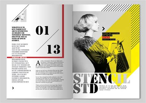 13 styles magazine design by tony huynh via behance