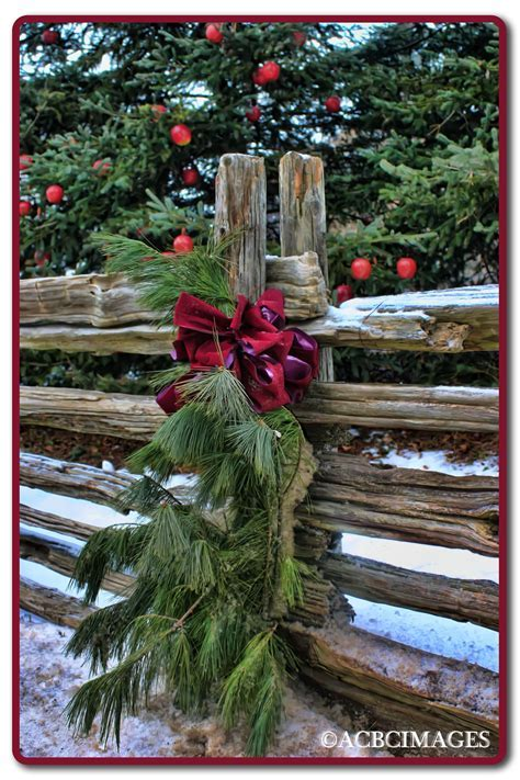 .for my garden yard fence   Country Christmas decorating