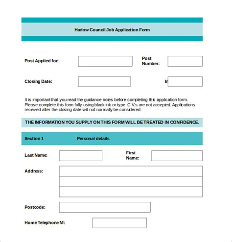 employment application template word free printable application for employment template