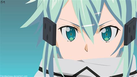 50x150cm sized sword sao sinon print anime wall asada sinon sword by fikrimochizou on deviantart