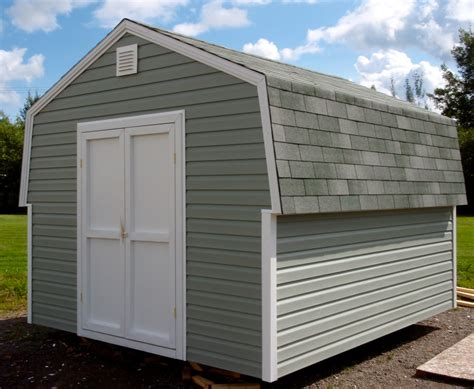 gamble roof share shed with gambrel roof