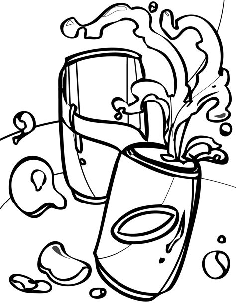 Soda Can Coloring Page Www Imgkid Com The Image Kid Has It Can Coloring Page