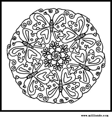 butterfly mandala coloring pages printable 125 best mandalas images on pinterest coloring pages