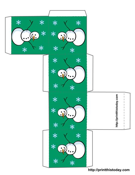 christmas box template new calendar template site