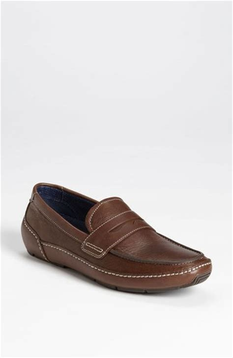 cole haan driving shoes cole haan air mitchell driving shoe in brown for