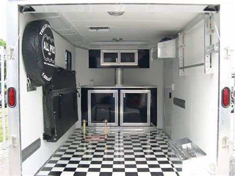 enclosed trailer cabinets for sale enclosed snowmobile trailer cabinets search
