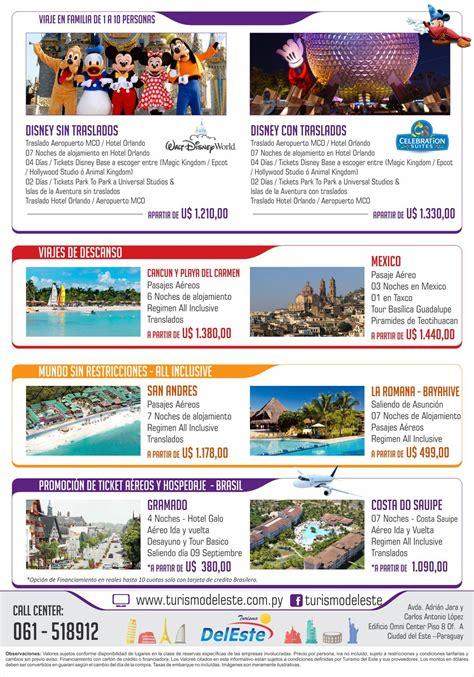 Flyer De Paquetes A Disney Turismo Del Este Flyer Template Turismo Y Templates Disney Flyer Template