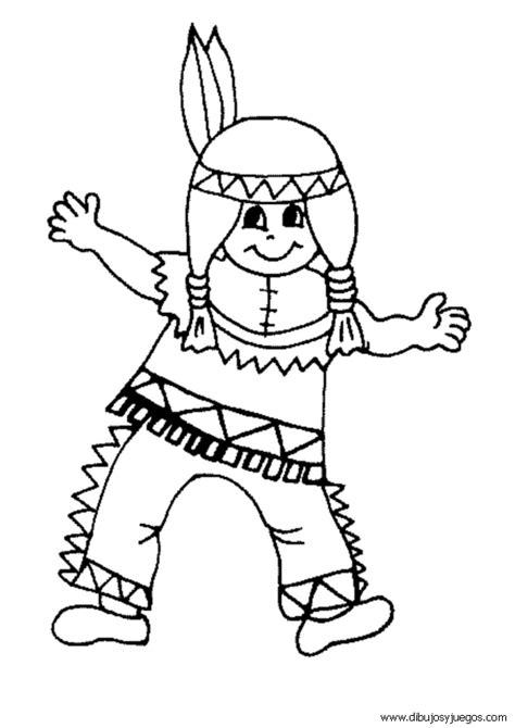 Dibujos Colorear Indios 16 Picture Garden Indios Para Colorear